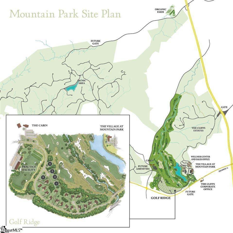 4. Residential Lot for Sale at The Cliffs At Mountain Park, Marietta, SC 29661