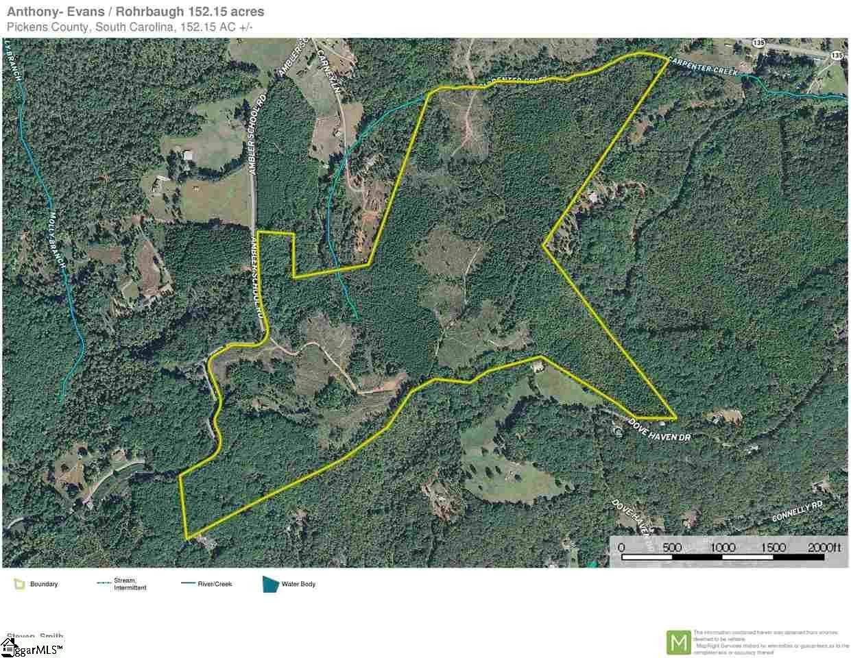 Acreage for Sale at Marietta, SC 29661