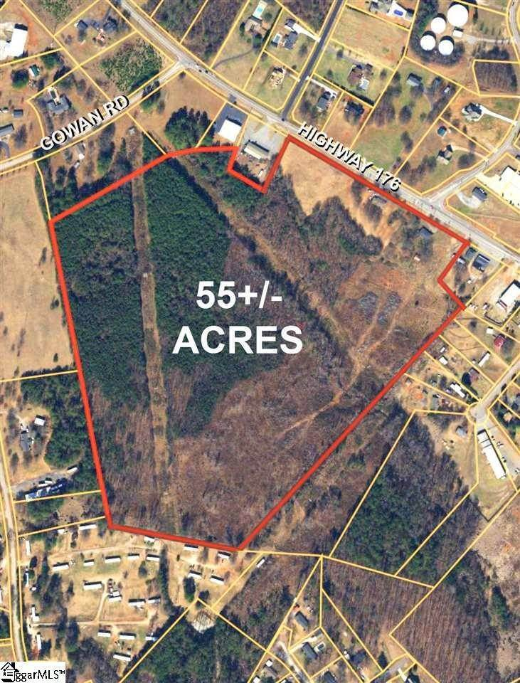Acreage for Sale at Inman, SC 29349